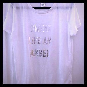Victoria's Secret White T-shirt NWOT